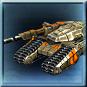 Standardpanzer der GDI. Gute Panzerung, guter durchsatz gegenüber feindlichen Panzern.